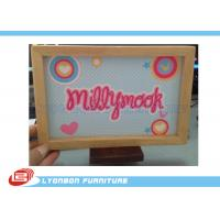 Wholesale Eco MDF Wood Engraving Logo SGS ISO For Grocery Store Promotion from china suppliers