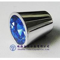 Buy cheap Blue Crystal Cabinet Knobs With Zinc Alloy or Brass (512-21QLD-XDL) from wholesalers