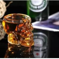 Wholesale Crystal skull goblet glass beer glass corsair vodka glass from china suppliers