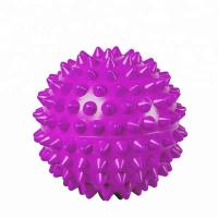 Wholesale Purple PVC Spiky Exercise Ball Massage Trigger Point Hand Exercise Pain Relieve from china suppliers