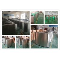 Stainless Steel Turnstile Gates, Pedestrian Flap Barrier Gate System
