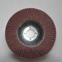 Wholesale Aluminum Oxide High Density Abrasive Flap Discs Conical For Angle Grinders Fiberglass Base from china suppliers