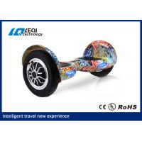 Quality UL2272 Portable 10 Inch Self Balancing Scooter With LED Light , Max Load 130kgs for sale