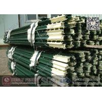 Wholesale Green Bitumen coated T Studded Post with Anchor Plate | Studded T post China Factory from china suppliers