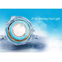 Wholesale IP 68 Underwater Wall Mounted LED RGB Swimming Pool Light Stainless Steel Outdoor LED Pond  Lamp from china suppliers