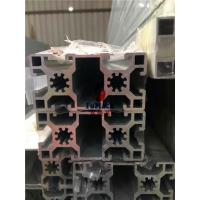 Wholesale 6063 T5 / T6 Structural Aluminum Profiles T Slot Square Hollow OEM 40 X 40 MM from china suppliers