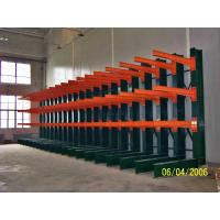 Buy cheap Powder Coating Finish Cantilever Racking System Warehouse Vertical Cantilever Racks from Wholesalers