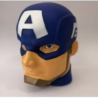 """Wholesale 3D Marvel Captain America """"illumi-mate"""" Colour Changing Light, Blue, 11 x 9 x 12cm from china suppliers"""