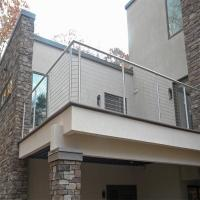 Wholesale Stainless Steel Rod Railing / Post for Railing Easy Installation from china suppliers