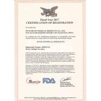 WuXi Beyon Medical Products CO.,LTD Certifications