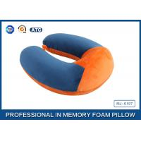 Wholesale Soft Ergonomic Shapeed Memory Foam Neck Cushion Traveling Pillow from china suppliers