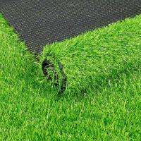 China 10mm Height Green Real Looking Artificial Grass 10000dtex Decoration For Music Band for sale