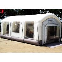 Wholesale Automotive Mini Outdoor Mobile Portable Car Inflatable Spray Paint Booth White Color from china suppliers