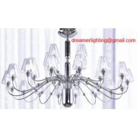 Wholesale 28 lights traditional High quality modern glass chandelier from china suppliers