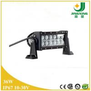 China 3D reflector 36w led light bar 3w cree led light bar for car on sale