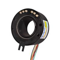 Wholesale 60mm Hallow Shaft Slip Ring Up To 500 Rpm 360 Degree Rotation Of Power Or Data Signals For Medical Equipment from china suppliers