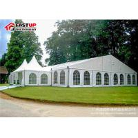 Wholesale Luxury Wedding Ceremony Tent , Commercial Party Tents With Clear PVC Windows from china suppliers