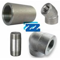 China 3000LB BSPT / BSP Pipe Fittings , Galvanized Carbon Steel Pipe Fittings on sale