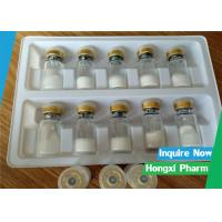 Lyophilized Peptide Hexarelin Acetate HGH Injectable Growth Hormone For Muscle Building