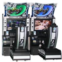 China Initial D8 Electronic Driving Simulator Arcade Machine For Shopping Center on sale