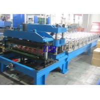 Wholesale Metal Glazed Tile Roll Forming Machine , Corrugated Roofing Sheet Making Machine from china suppliers