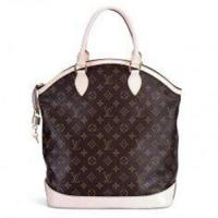 Wholesale Canvas LV Monogram Handbags Lockit Vertical with Oxidizing Leather Handle M40103 from china suppliers