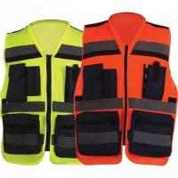 China Superior Durability Reflective Safety Vest For Heavy Machine Operation on sale