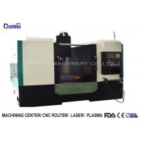 Full Cover Shroud CNC Vertical Machining Center For Iron Ore Engraving for sale