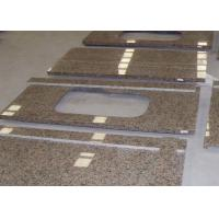 Wholesale Desert Gold Color Stone Granite Countertops Vanity Table Top Personalized Design from china suppliers