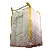 Wholesale Anti Static Baffle Bulk Bags , Breathable Bulk Bags Tubular Type With Two Loops from china suppliers