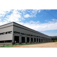China Prefab Metal Portal Frame Painted Light Steel Structure Building for sale