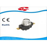 Wholesale Manual Reset Temperature Bimetal Thermostat 45~160 Degree 25A 250V (45A 250V) from china suppliers