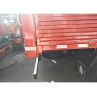 Buy cheap 6 Wheels LHD/RHD HOWO Light Duty Trucks with 115HP in red color from wholesalers
