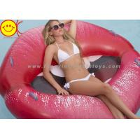 China Luscious Lips Pool Float Inflatable Toys Raft Inflatable Beach Floats for Adults on sale