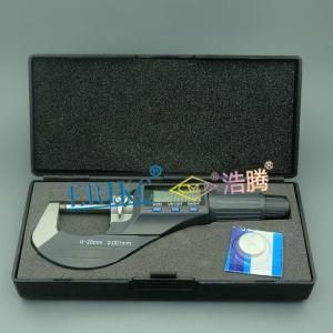 China ERIKC digital micrometer gauge,E1024006 auto fuel engine part Micrometer for common rail s on sale