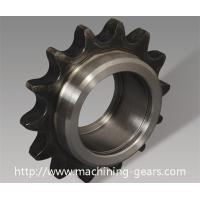Wholesale CNC Machining Single / Double Chain Sprocket Wheel With Hardened Teeth from china suppliers