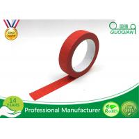 Quality Kids Craft Multi Pack Colored Masking Tape / 140 - 150mic Thickness Red Packing for sale