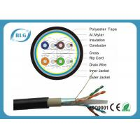 Wholesale Dual Layer Jacket Cat6 LAN Cable Outdoor FTP Al Foil Shielded PVC PE Material from china suppliers