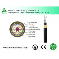 Factory price 24 core 96 core Fiber cable Outdoor overhead Fiber Optic Cable ADSS for sale