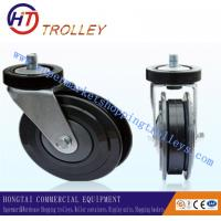"Wholesale 5"" Three Sides Castor Shopping Trolley Spare Part  Universal Elevator Castor from china suppliers"