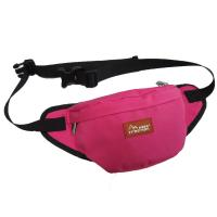 Wholesale Custom Canvas Fanny Pack Travel Waist Bag Red Color For Womens from china suppliers