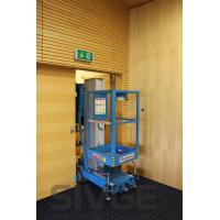 Buy cheap One Person Vertical Mast Lift Single Mast With 7.6 Meter Platform Height from wholesalers
