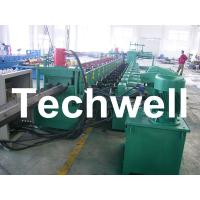 Wholesale 7 Rollers Leveling 10 - 12m/min W Beam Roll Forming Machine for Crash Barrier from china suppliers