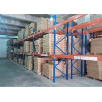 Wholesale Multi tier CE Certificate Storage Racking Systems Dark Bule / Orange Red from china suppliers