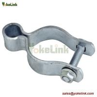Galvanized Metal Chain Link Fence Accessories Fence Gate Post Hinge for sale