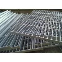 Wholesale Flat Bar Galvanised Floor Grating , Round Bar Galvanized Walkway Grating from china suppliers