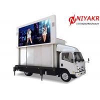 China Video Advertising 6mm Outdoor Mobile LED Screen IP65 27777 Pixels/㎡ on sale