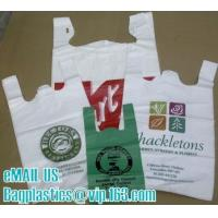 Wholesale T shirt bags, vest carrier, carrier bags, shopping bags, shopper, handy bags, handle bags from china suppliers