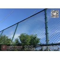 Wholesale 4.75mm Dark Green PVC coated Wire, 50X50mm mesh aperture Chainlink Fence from china suppliers