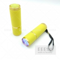 Wholesale Yellow Wireless Portability Small Size Gel Uv Nail Flashlight Lamp Led 9W from china suppliers